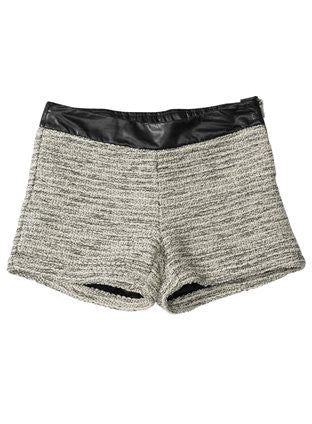 Ella Moss Big Girl's Downtown Grey Heather Shorts