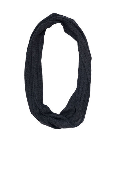 Persnickety Girl's Grey Eternity Scarf
