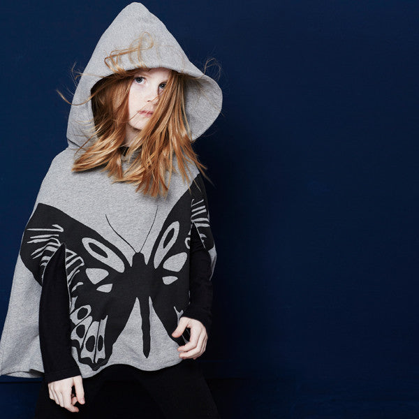 yporque - Butterfly Poncho
