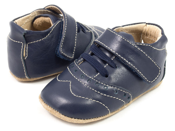 Livie & Luca Baby Boy Flint Navy Shoes