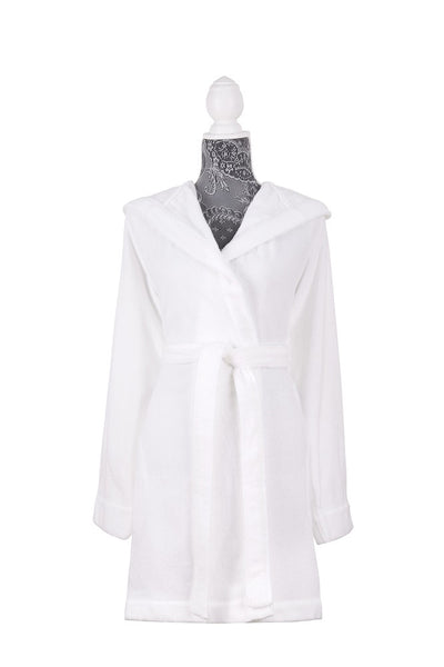 Moss Verbena %100 Hydro-Cotton Shawl Collar Turkish Spa Bathrobes for Women