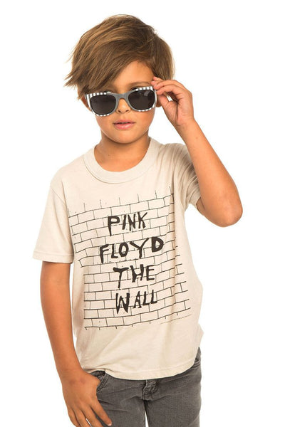 Chaser Boys Jersey Antique White Pink Floyd- The Wall Tee