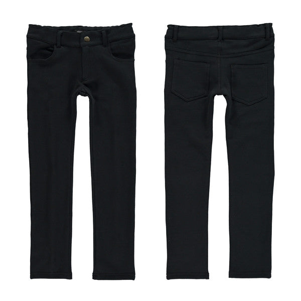 Yporque - Black Colored Pants