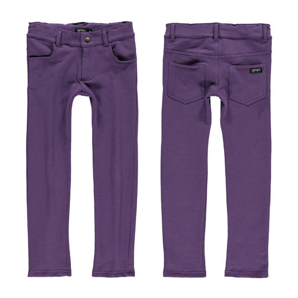 Yporque - Purple Colored Pants