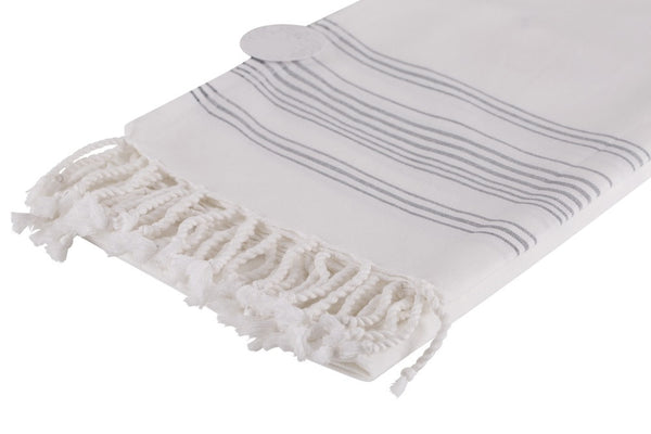 Moss Verbena %100 Cotton Turkish Pestemal Towel Set of 2