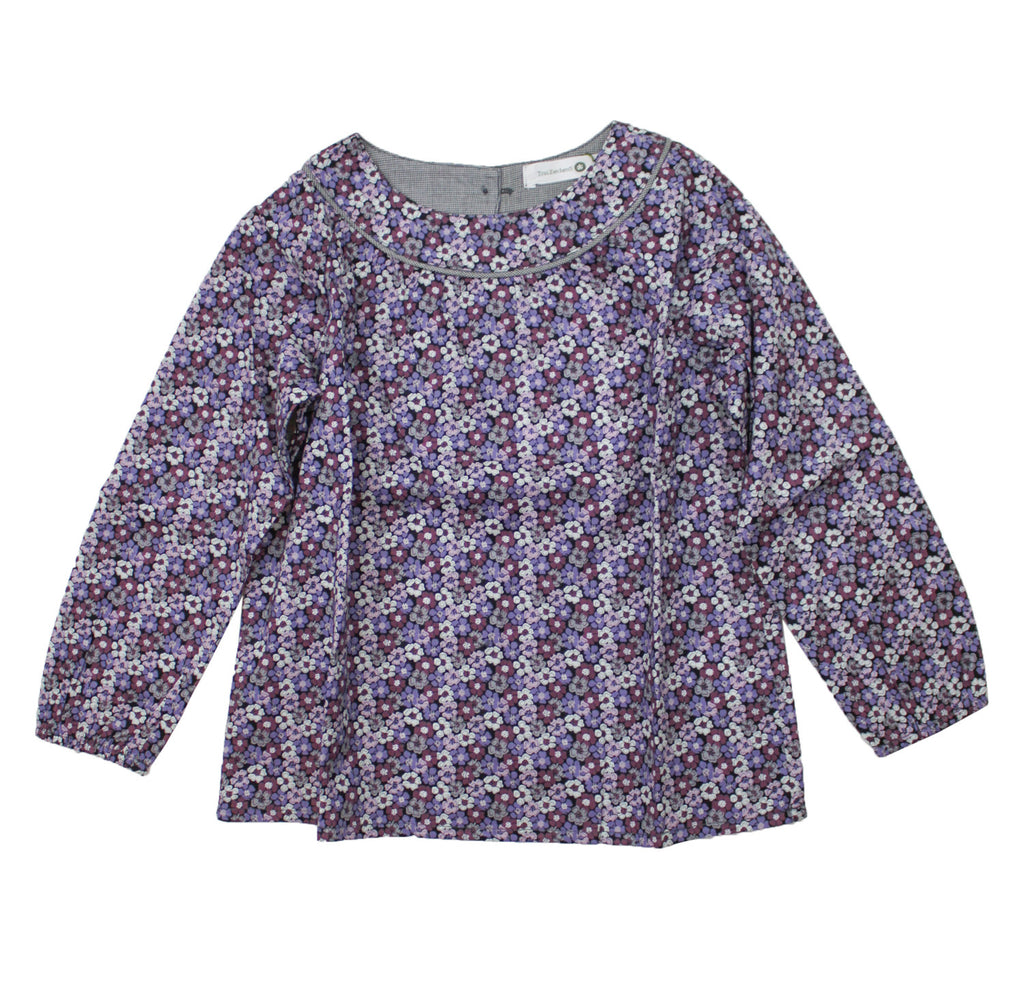Troizenfant Girl's Long Sleeve Louise Shirt