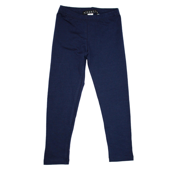 Kate Mack Girl's Cotton Navy Leggings