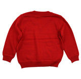 Petit Bateau Boy's V-Neck Red Sweater
