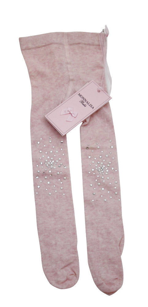 Monnalisa Stylish Baby Girl's Pink Legging