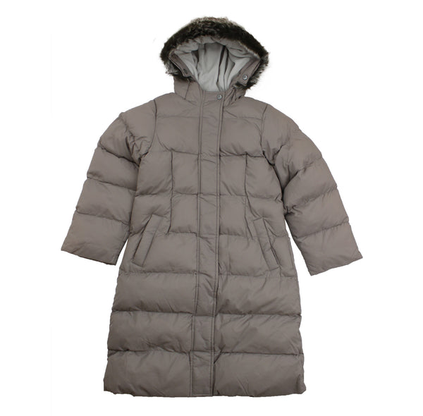 Petit Bateau  Girl's Hooded Puffy Coat