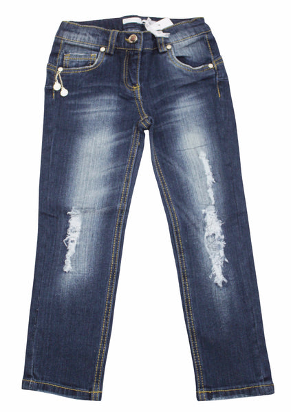 Miss Grant Girl's Vintage Denim Pants