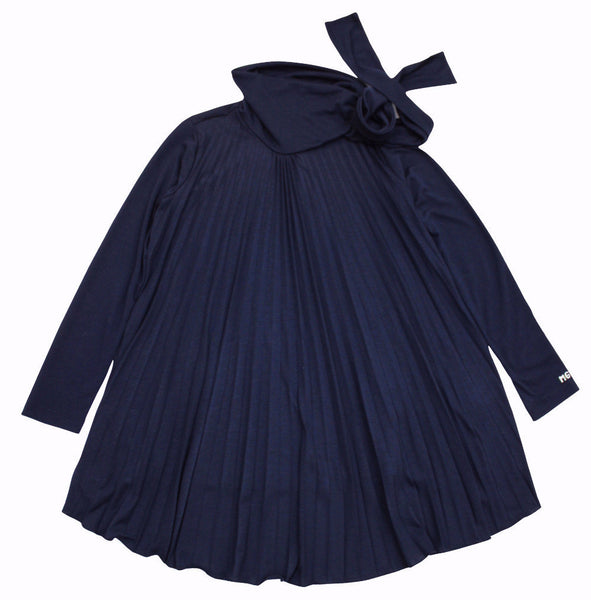 Miss Grant Girl's Loose Maxi Navy Top
