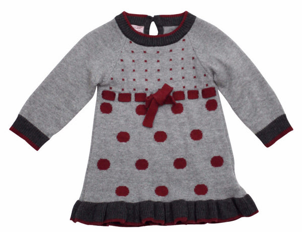 Monnalisa Baby Girl's Wool Dress