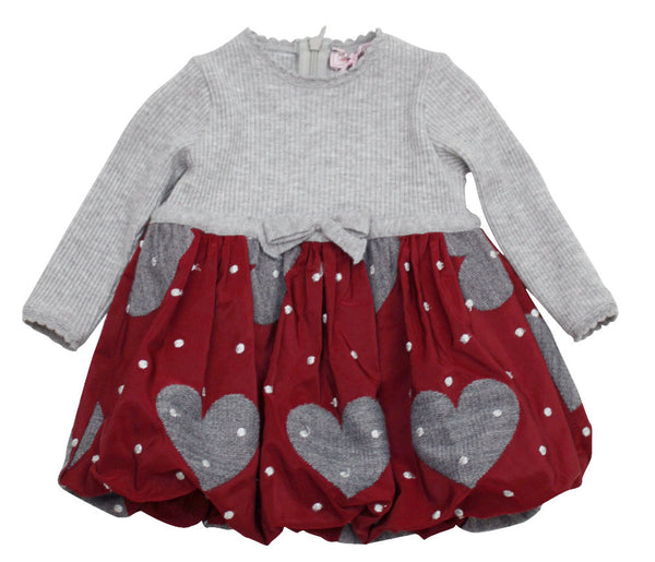 Monnalisa Baby Girl's Bubble Skirt Dress