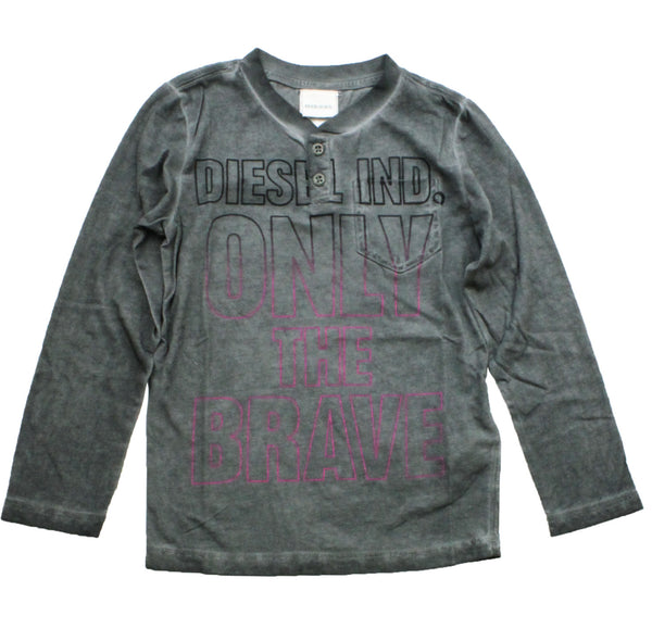 Diesel Taran Boy's Long Sleeve T-Shirt