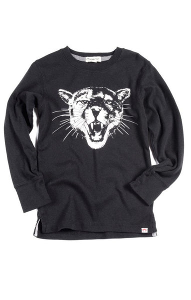 Appaman - Boy's Puma Graphic Long Sleeve Classic Tee
