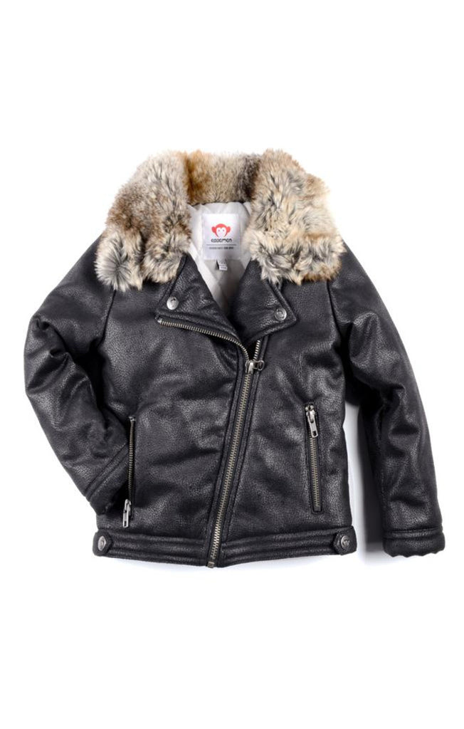Appaman Girl's Moto Jacket