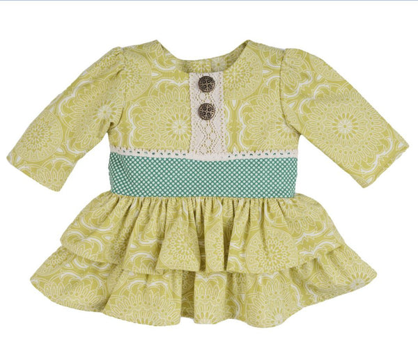 Persnickety Girl's Ruffle Tunic