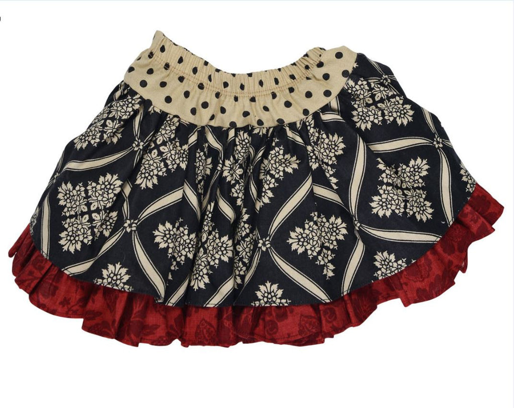 Persnickety Baby Girl's Multi Color Lily Skirt