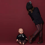 Yporque - Rock Baby Tee and Sarouel Pants Set