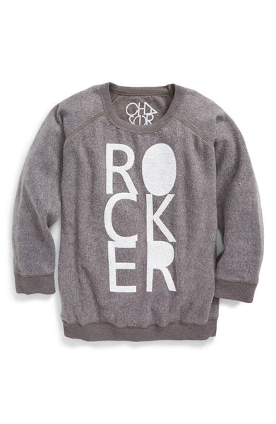 "Chaser ""Rocker"" Logo Graphic Sweater (Toddler Boys, Little Boys & Big Boys)"