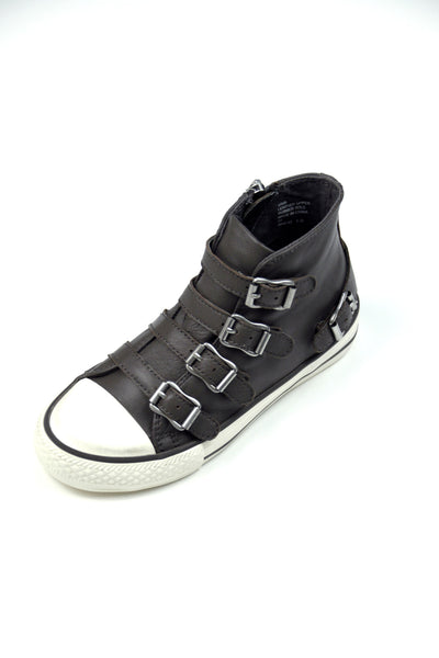 Ash - Vava Elephant High Top Buckle-Up Sneakers