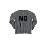 Yporque - Grey Yes-No Sweater