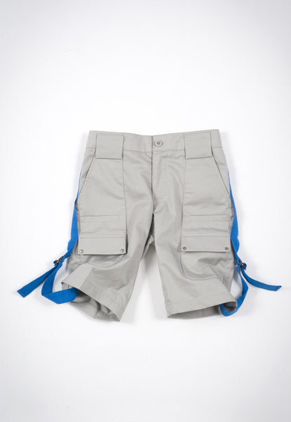 Kico Kids Boy's Grey Cargo Bermudas Short