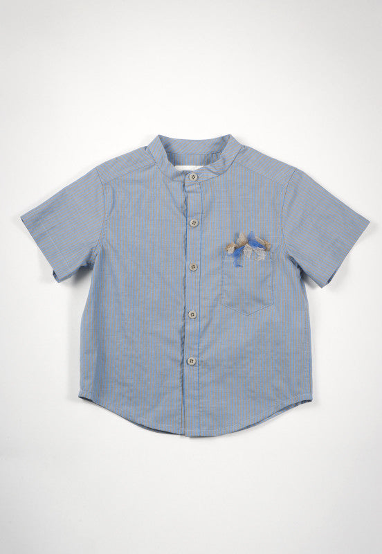 Kico Kids Boy's Collarless Shirt