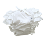 Blu Pony Vintage White Cotton Bloomers
