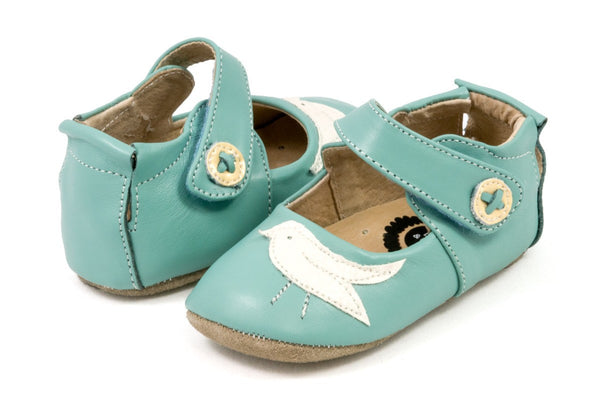 Livie & Luca Baby Girl Light Blue Pio Pio Shoes