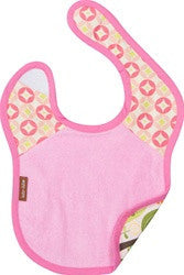 Baby JaR Reversible Bib in Peeps Design