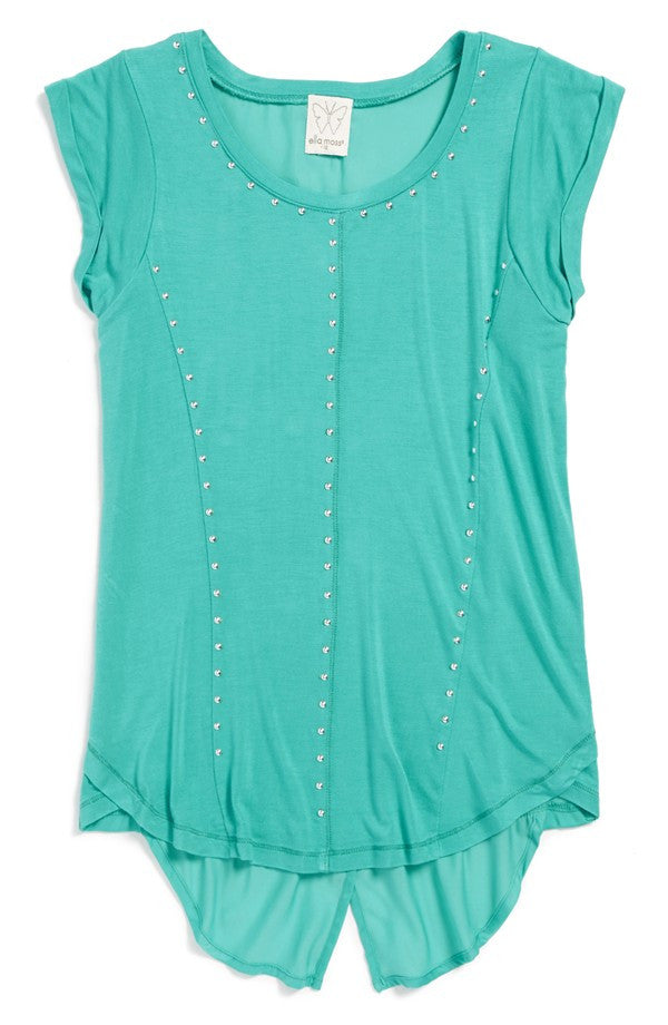 Ella Moss Girl Cara Tank Top with Studded