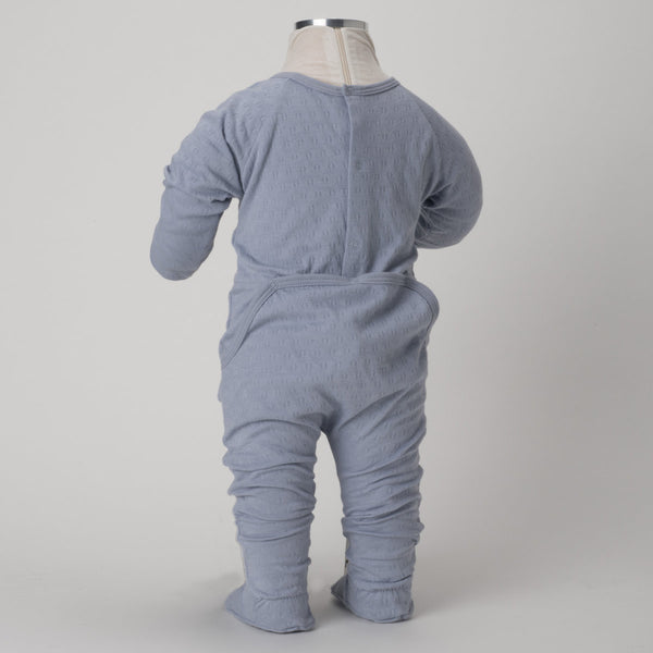 Tane Organics Pointelle Onesie w/ Back Closure
