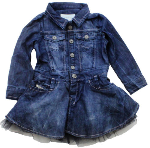 Diesel DeniskyGirl's Denim Tutu Dress