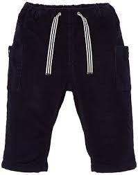 Petit Bateau Baby Boy Navy Pants with Side Pockets