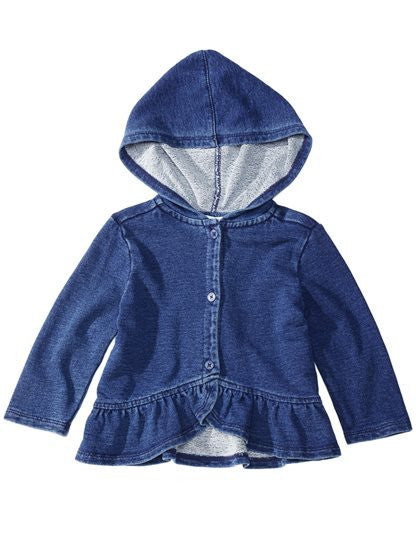 Splendid Baby Girl Active Ruffle Jacket