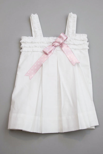 Designer Baby Girl's Summer White Dress