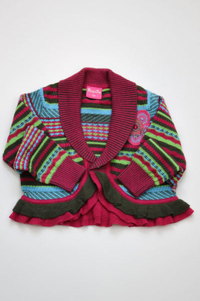 Pampolina Multi Color Cardigan