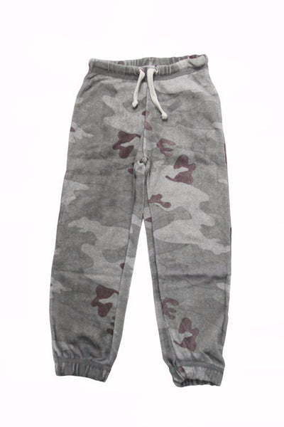Vintage Havana Girl's Camo Cashmere Fleece Gym Pants