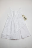 A.Bird Delphine Frock Girl's White Cotton Lace Dress