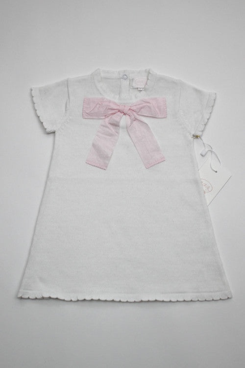 CECECO BABY Knit dress with big bows