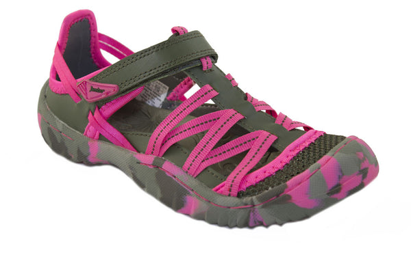 Jambu-Dusk Camo/Fuchsia Color Sport Sandals/Shoes