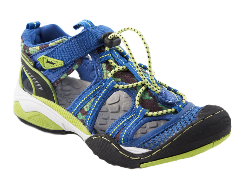 Jambu-Piranha Blue/Green Color Sport Sandals/Shoes