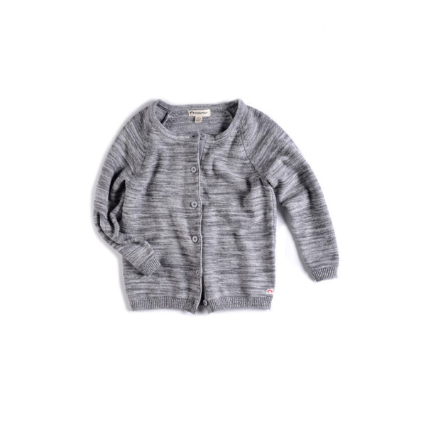 Appaman Baby Girl's Grey Chelsea Cardigan