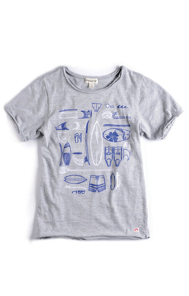 Appaman Boys Heather Short Sleeve Tee