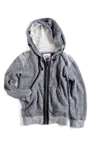 Appaman Boys Heather Zip Up Hoodie