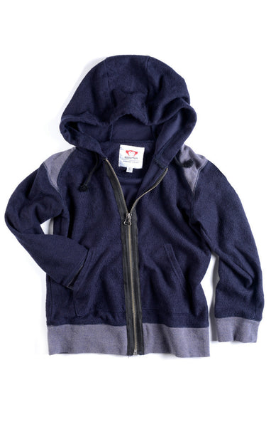Appaman Boys Indigo Zip Up Hoodie
