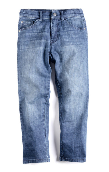 Appaman Boys Dark Wash Straight Leg Denim