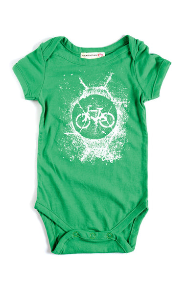 Appaman Baby Boys Clover Bicycle Onesie